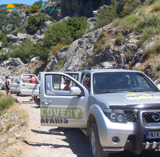 <font color=#00a680>Rethymno Jeep Safari</font>, One Day Tour